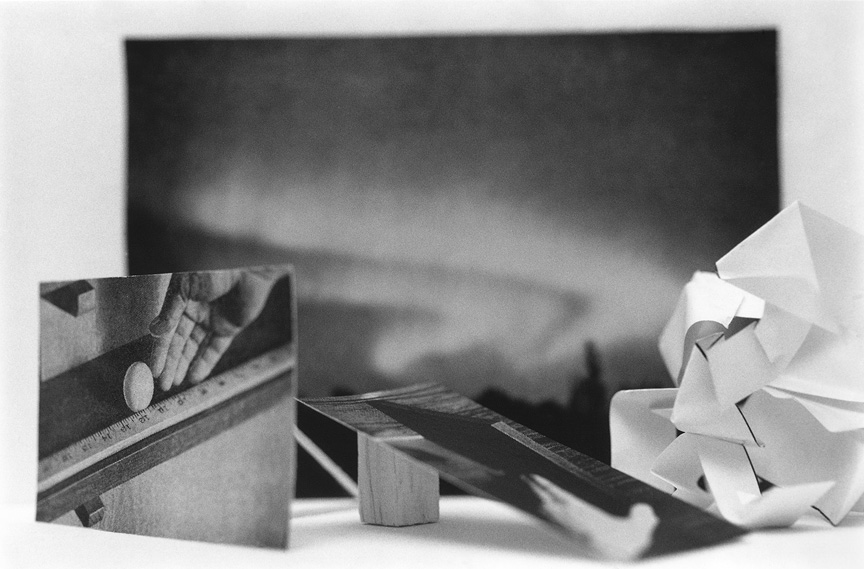 <b>Untitled photographic object no.23</b>, 2015, gelatin silver print, 6 x 9 inches