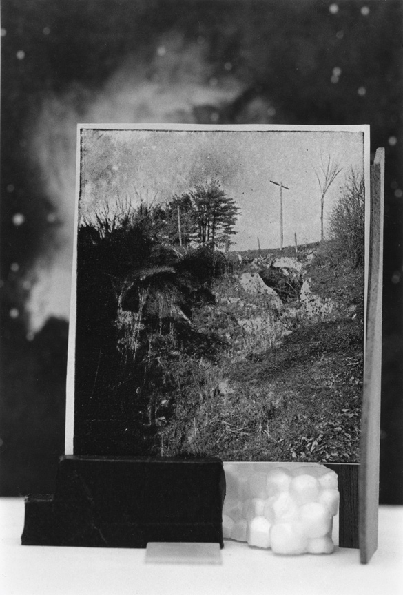 <b>Untitled photographic object no.56</b>, 2017, gelatin silver print, 13.5 x 9.25 inches