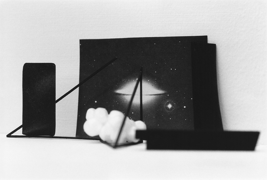 <b>Untitled photographic object no.59</b>, 2017, gelatin silver print, 9.25 x 13.5 inches